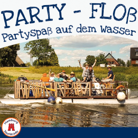 Partyfloß in Hamburg mieten