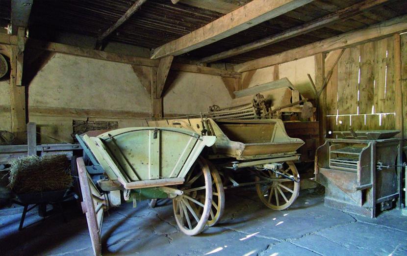 Freilichtmuseum Kiekeberg im Haus