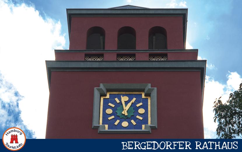 Eingang Rathaus Bergedorf