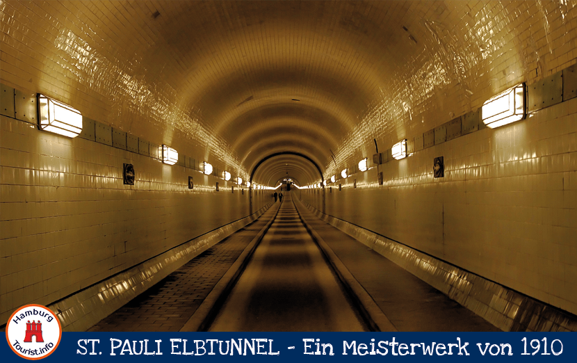 Alter Elbtunnel Hamburg - Tunnelröhre
