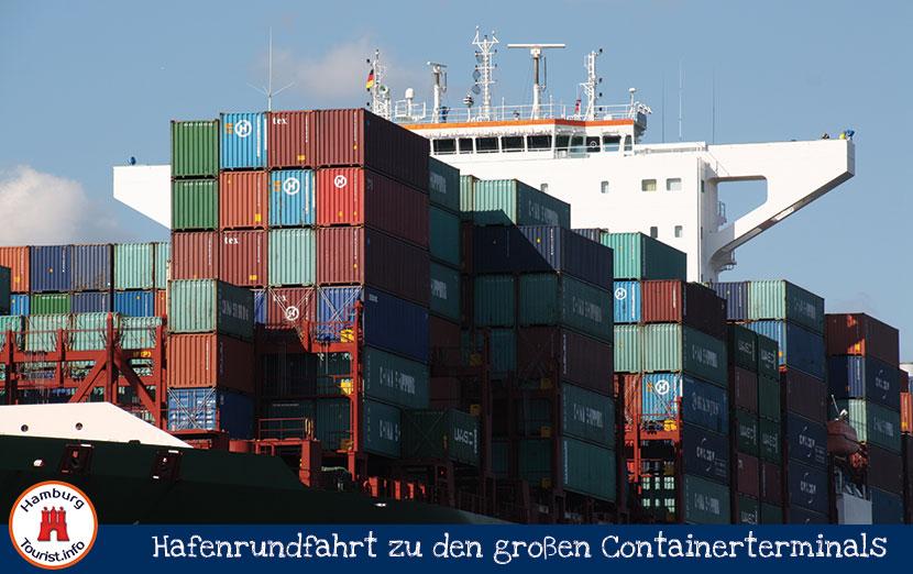 Containerterminal Waltershof Hamburg