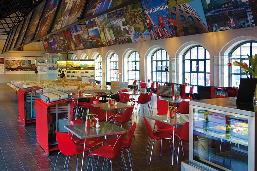 InfoCenter HafenCity Kesselhaus Hamburg